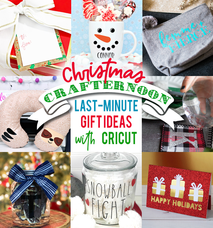 last-minute gift ideas with Cricut for Christmas craft projects
