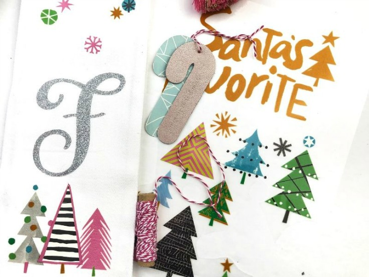 Personalized Christmas Tea Towels