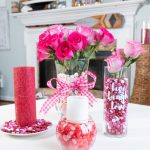 valentine's day candy home decor