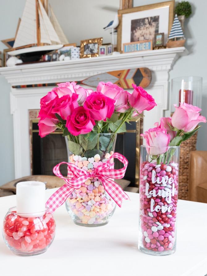 valentine's day candy display