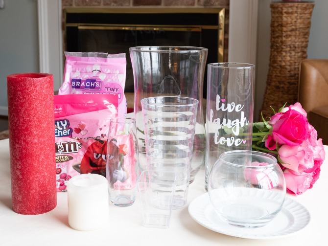 supplies for valentine's candy crafts