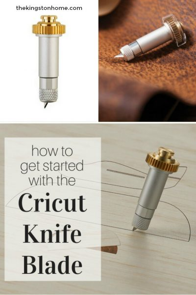 how to change the cricut knife blade