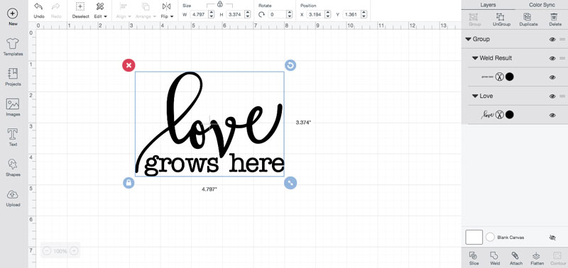 love grow here cut file