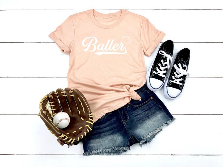 baller t-shirt project