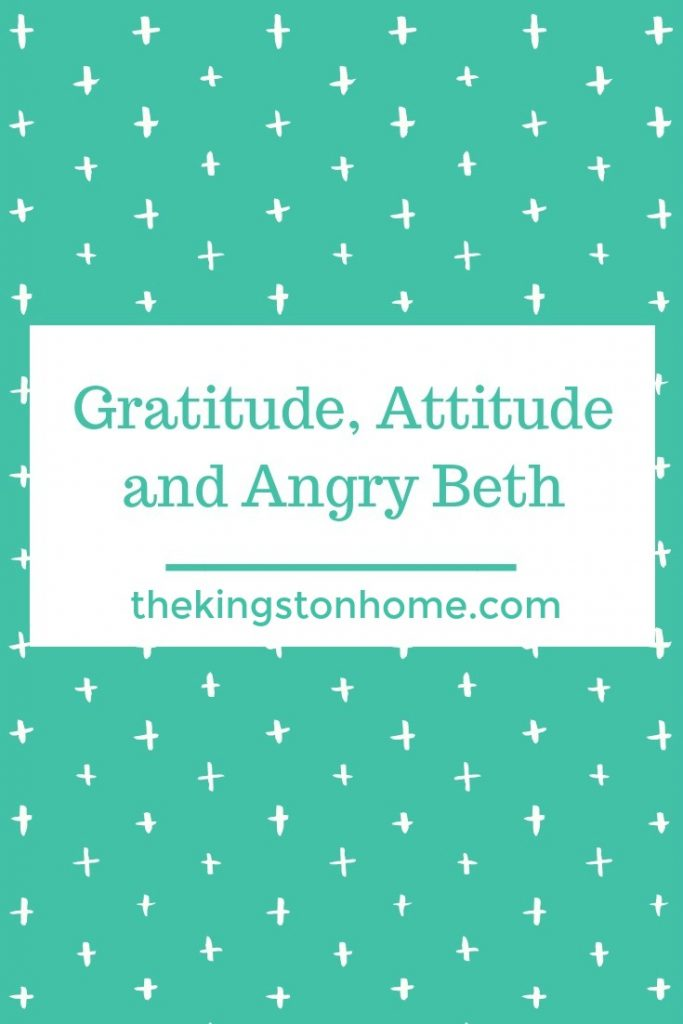 Veterans Day Gratitude, Attitude and Angry Beth - The Kingston Home