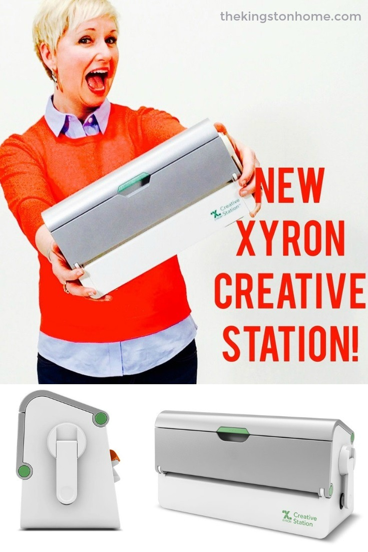 Introducing the NEW Xyron Creative Station! - The Kingston Home: I spent a few days at Xyron last week filming some videos/photos for this beauty...the NEW Xyron Creative Station! And they let me take one home! via @craftykingstons