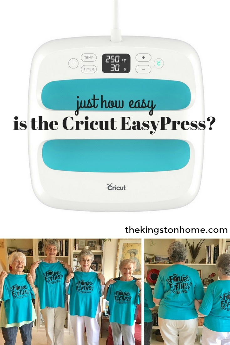 Just How Easy is the Cricut EasyPress from The Kingston Home