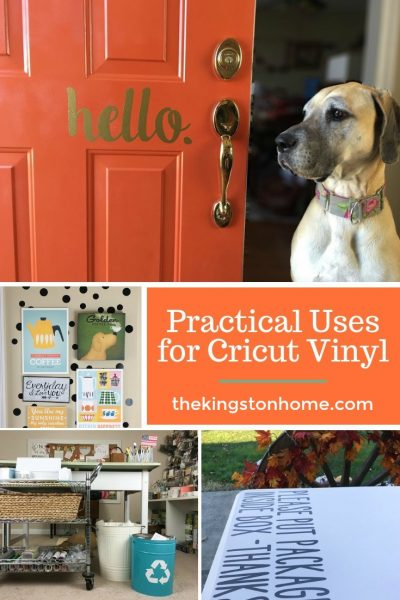 Practical Uses for Cricut Vinyl - The Kingston Home