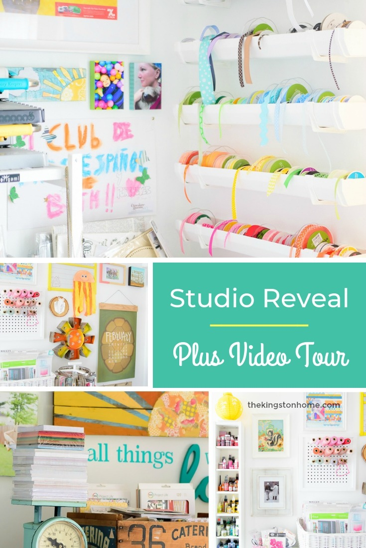 Studio Reveal and Video Tour - The Kingston Home