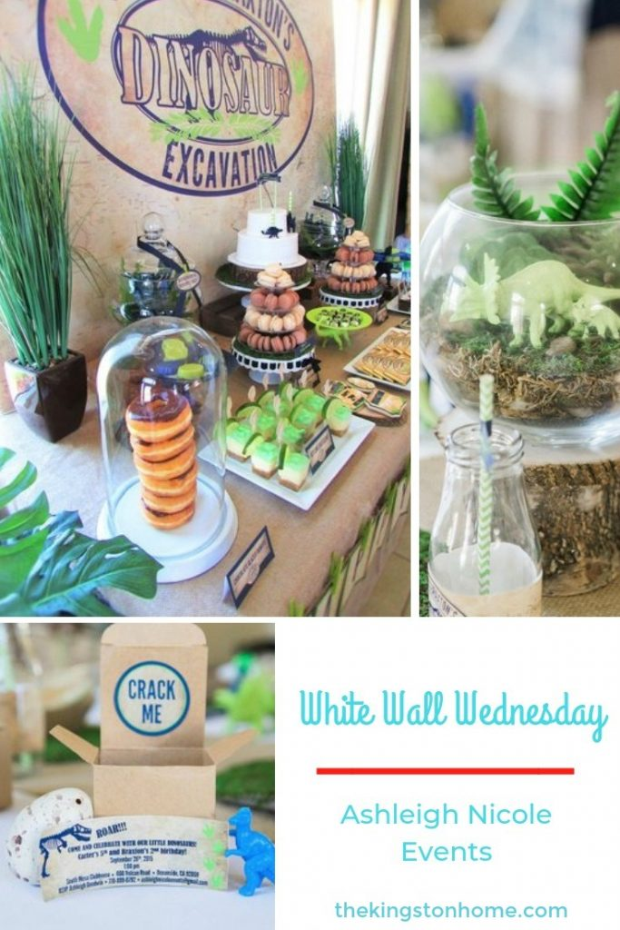 White Walls Wednesday – Ashleigh Nicole Events - The Kingston Home