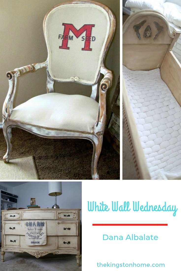 White Walls Wednesday – Dana Albalate - The Kingston Home: White Walls is an online community dedicated to helping military families make home wherever Uncle Sam sends them. Every Wednesday I will be introducing you to a military spouse and sharing his/her creativity and a little bit about them. Today, we will meet Dana Albalate! via @craftykingstons