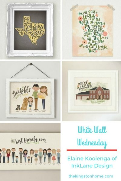 White Walls Wednesday – Elaine Kooienga of InkLane Design - The Kingston Home