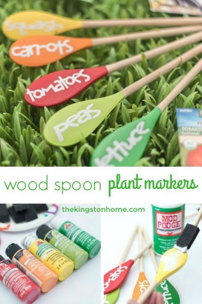 Wood Spoon Garden Markers - The Kingston Home