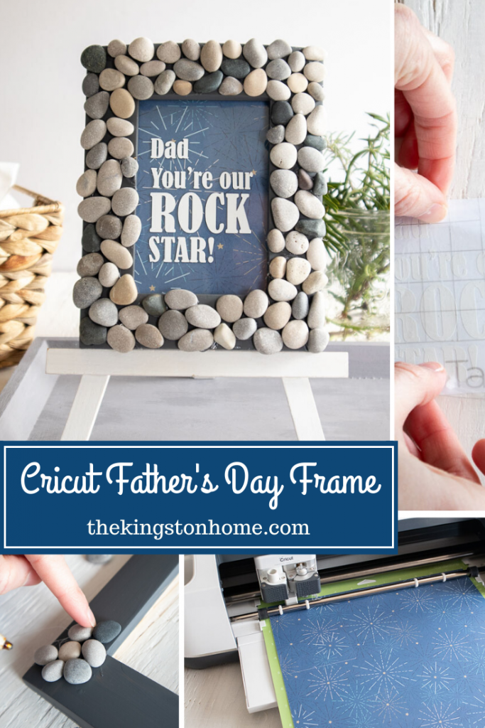 Cricut Father's Day Frame - The Kingston Home