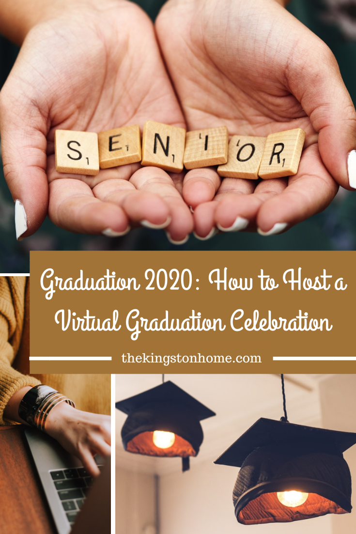 How to Host A Virtual Graduation Ceremony - The Kingston Home: Do you have a 2020 graduate who is sad about missing their graduation this year? Then learn how easy it is to host your own virtual graduation ceremony with our simple guide! via @craftykingstons