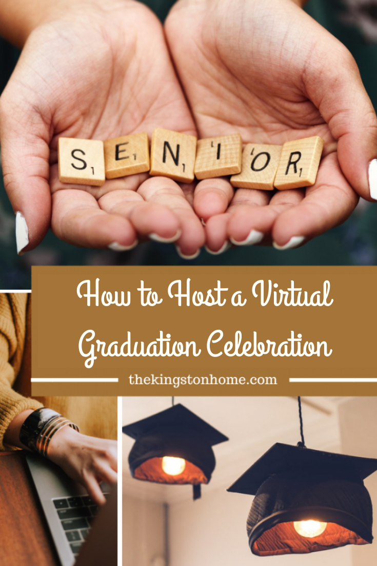 How to Host a Virtual Graduation Celebration - The Kingston Home: Do you have a 2020 graduate who is sad about missing their graduation this year? Then learn how easy it is to host your own virtual graduation ceremony with our simple guide! via @craftykingstons