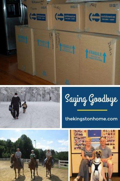 Saying Goodbye - The Kingston Home
