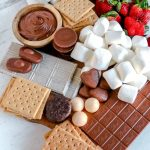 smores board for party
