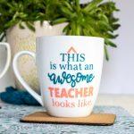 mug for teachers