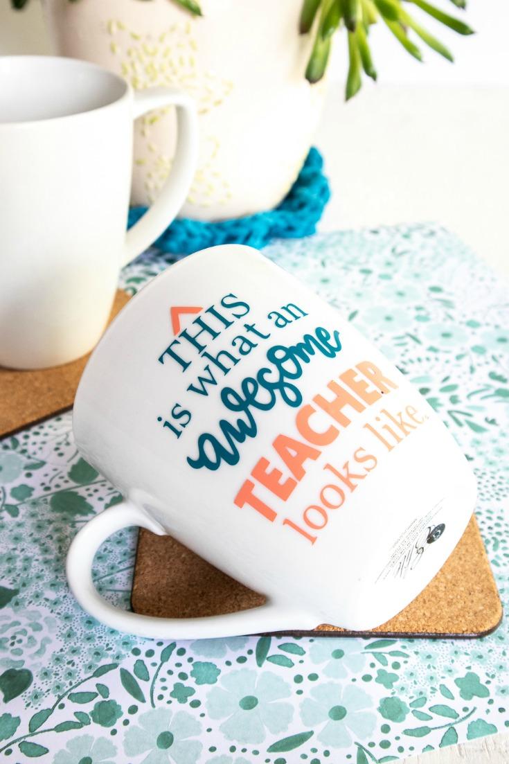 gift for teacher's mug
