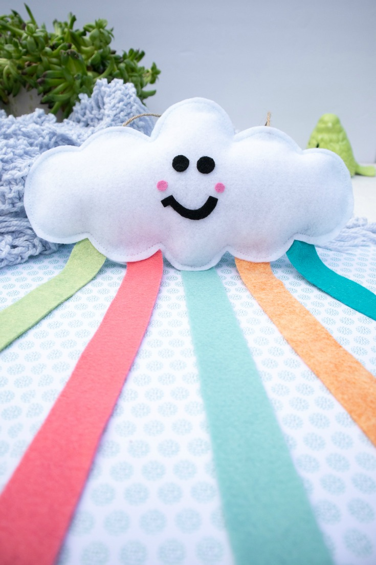 cloud wall hanging