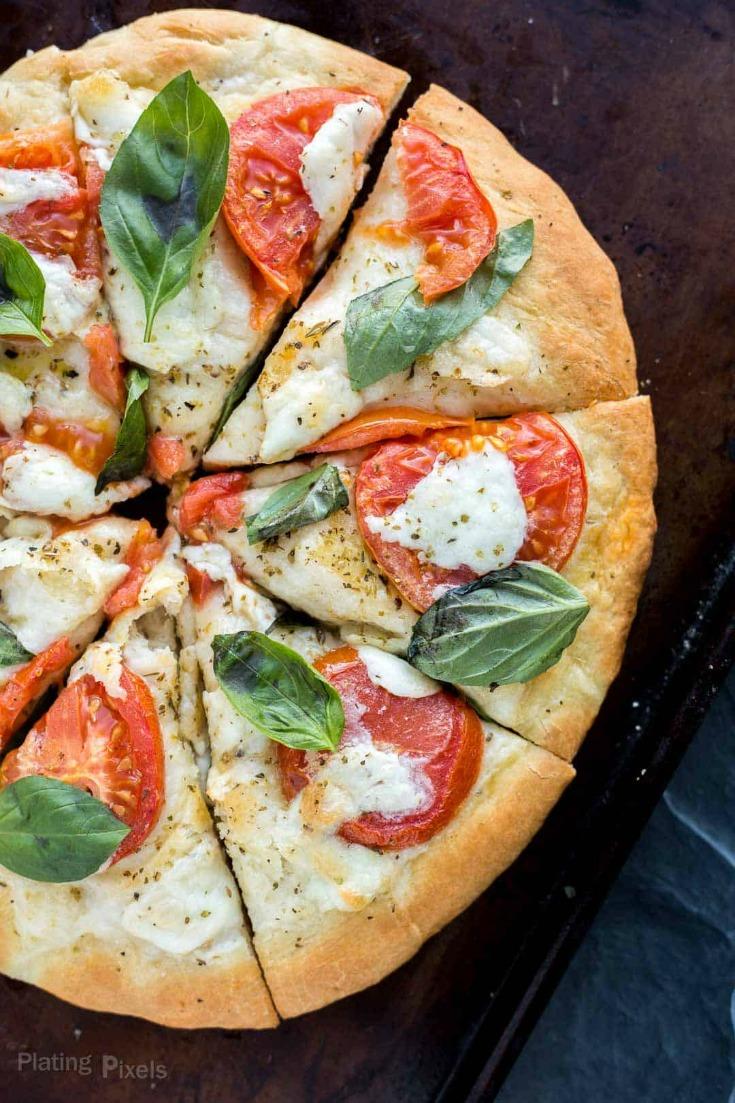 Caprese Pizza by Plating Pixels
