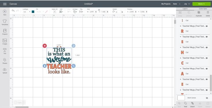 svg file in cricut design space
