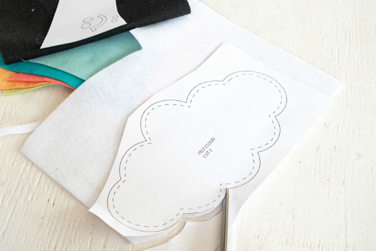 cutting felt cloud