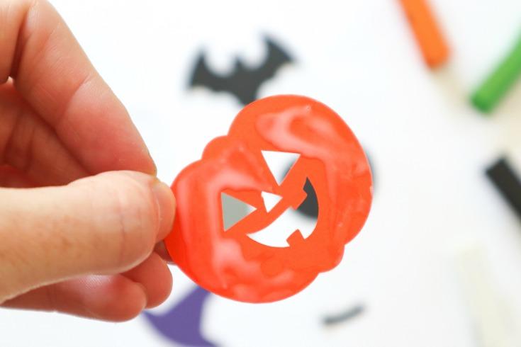 pumpkin halloween cut out