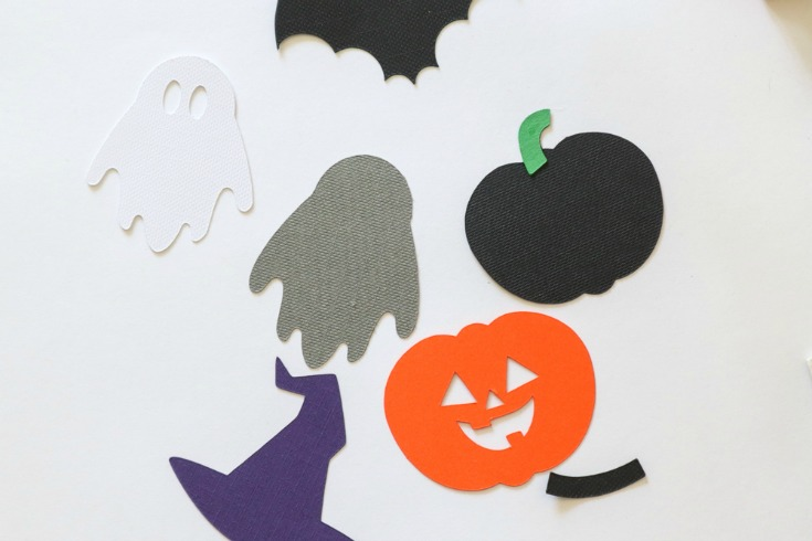 paper halloween cutouts