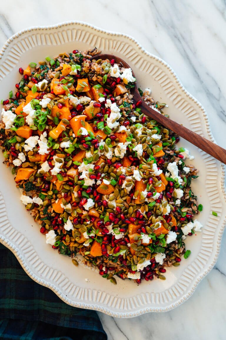 Butternut Squash And Wild Rice by Cookie And Kate