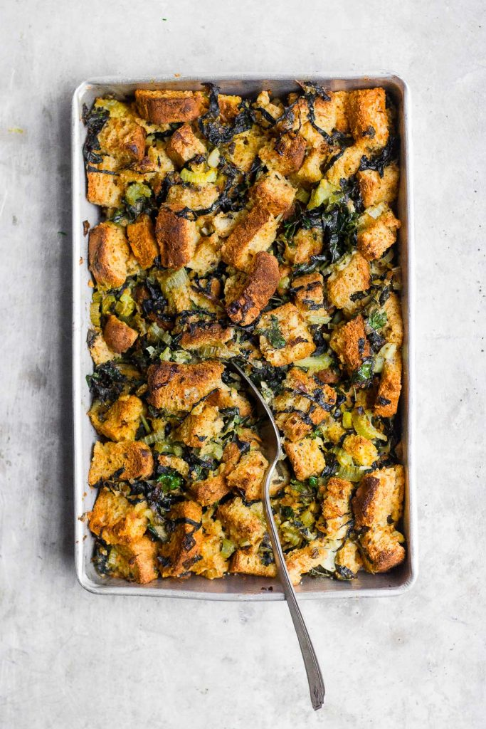 Veggie and Sage Stuffing by With Food And Love