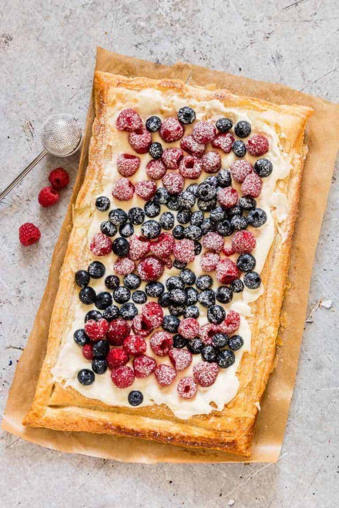 Puff Pastry Breakfast Tart