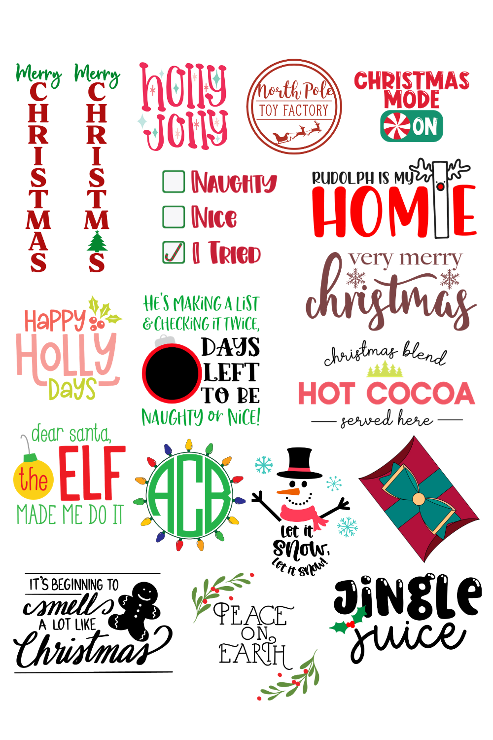 Free Christmas Svg Files For Your Cricut Or Silhouette The Kingston Home