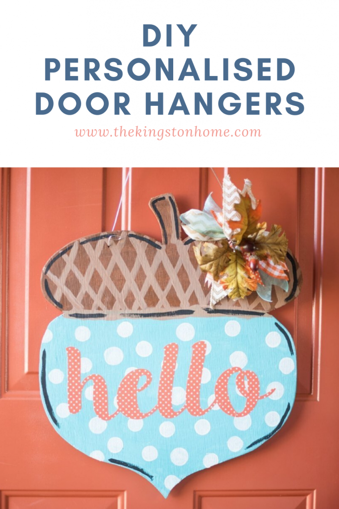 DIY Personalised Door Hangers