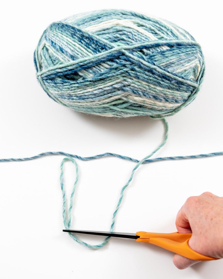 double yarn  for garland