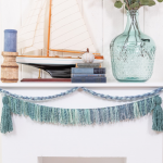 tassel garland for coastal home
