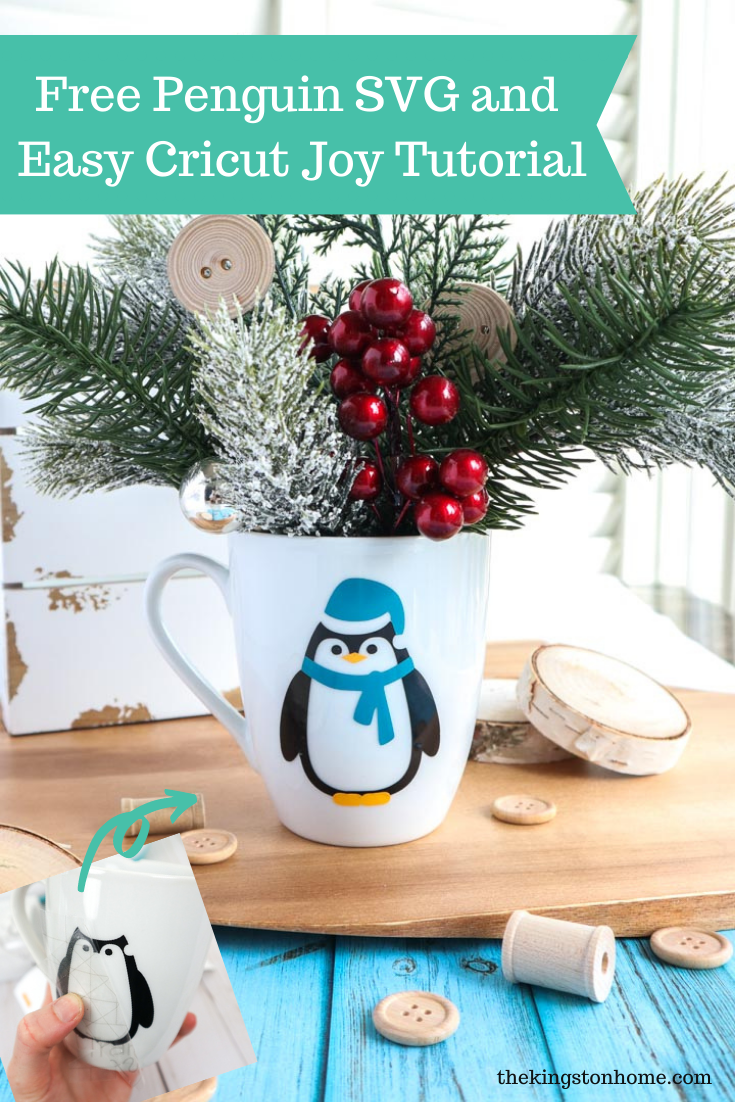 Free Penguin SVG and Easy Cricut Joy Tutorial - The Kingston Home