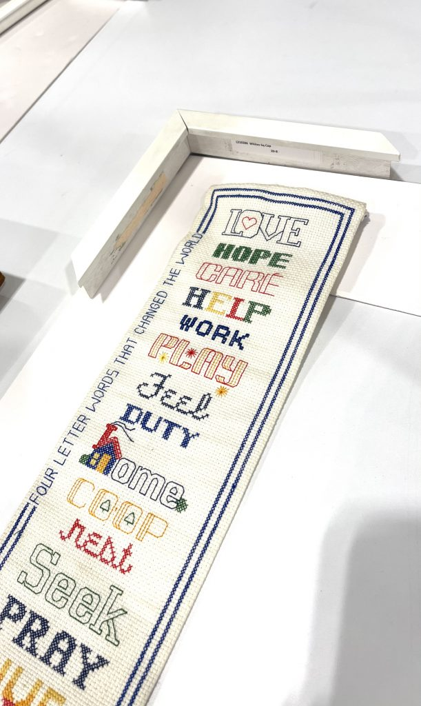 artwork with sample frame