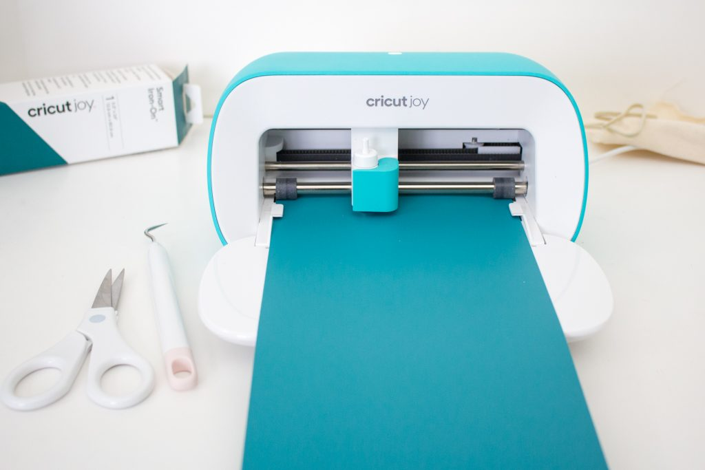 upload the Smart Iron On into the Cricut Joy