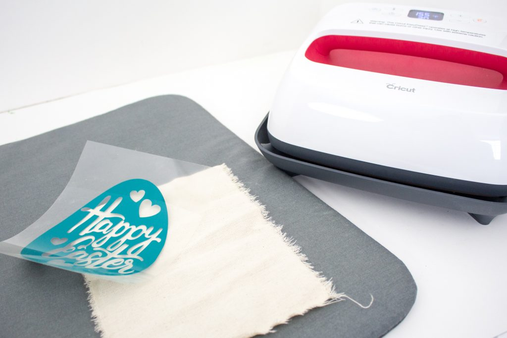Cricut EasyPress with mat and Easter Egg image