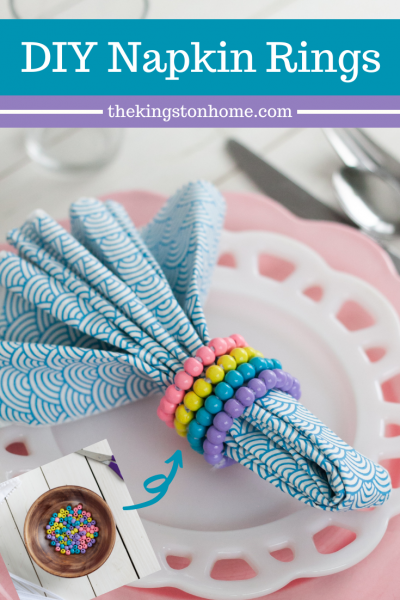 DIY Napkin Rings - The Kingston Home