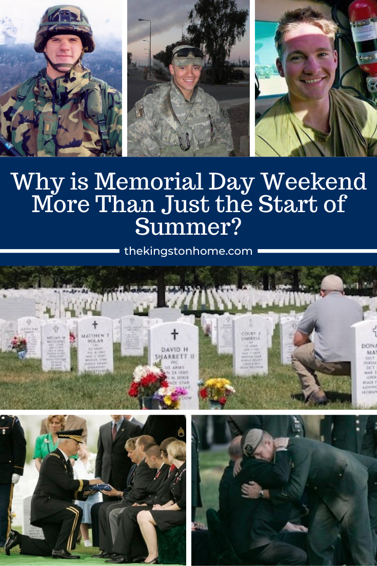 Why is Memorial Day Weekend More Than Just the Start of Summer - The Kingston Home via @craftykingstons